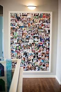 Fotos Aufhängen Ohne Rahmen Ideen : fotowand zu hause gestalten tipps und 25 kreative ideen innendesign wandverkleidung zenideen ~ Bigdaddyawards.com Haus und Dekorationen