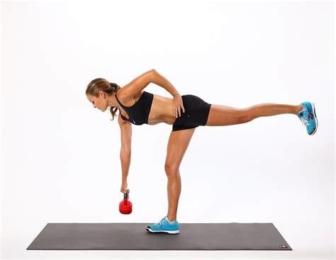 kettlebell deadlift exercises weight loss fitness leg single popsugar