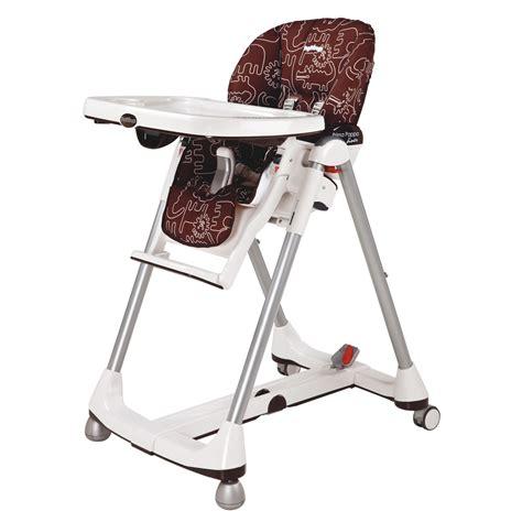 chaise haute de voyage chaise haute prima pappa diner de peg pérego chaises