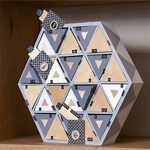 Calendrier De L Avent En Bois à Décorer : calendrier de l 39 avent en bois hexagonal 36cm artemio ~ Zukunftsfamilie.com Idées de Décoration