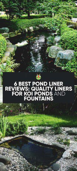 pond liner reviews quality liners  koi ponds