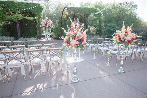 luxe location desert botanical garden arizona weddings