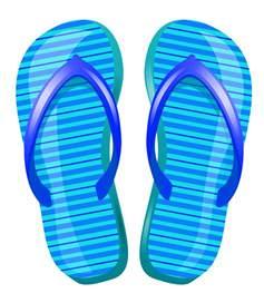 Beach Flip Flops Clip Art