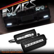 mars bumper bar led drl day time fog lights cover for bmw e36 mars performance