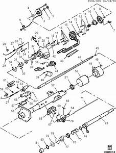 Exploded View For The 1994 Chevrolet Astro Van Non