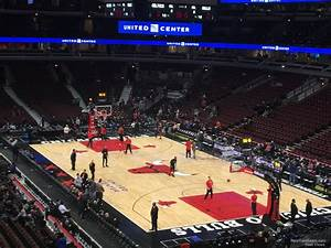 Section 212 At United Center Chicago Bulls