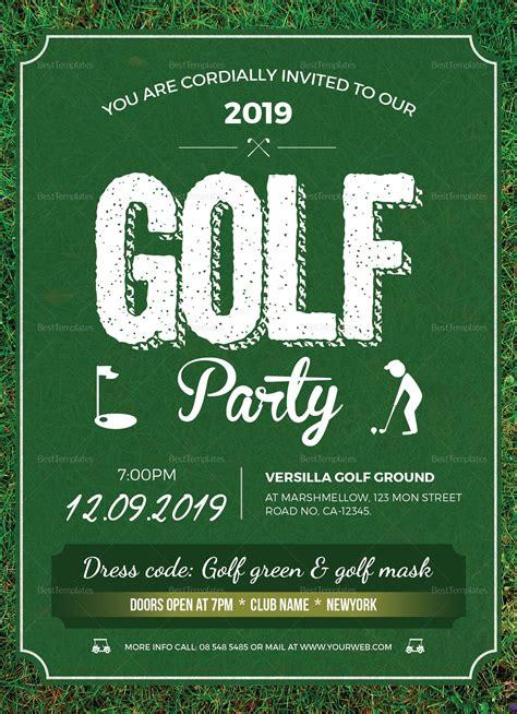 golf party invitation template golf invitation golf