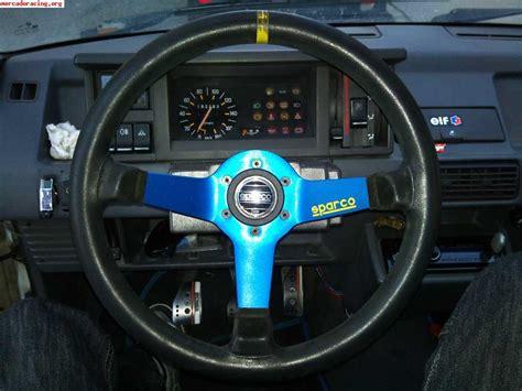 si鑒e sparco se vende volante semidesplazado sparco de 3 palos azules venta de equipación interna vehículo
