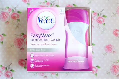 veet easywax electrical roll  kit review