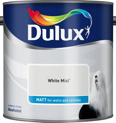 dulux white mist matt emulsion paint