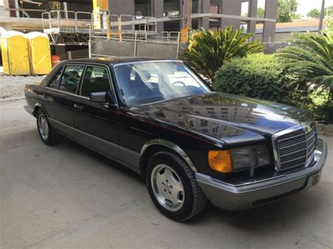 how does cars work 1988 mercedes benz s class parking system 1988 mercedes benz 300 sel w126 no reserve for sale photos technical specifications description