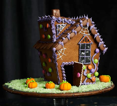 gingerbread haunted house bbc good food