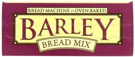 With a chewy texture and nutty taste,. Hodgson Mill Barley Bread Mix, 16-Ounce Units (Pack of 6 ...