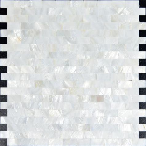 Of Pearl Subway Tile Uk by Of Pearl Mosaic Tiles Subway Seamless Shell Mosaics