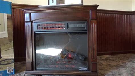 Chimney Free Electric Fireplace Space Heater Review