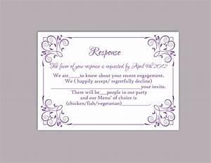 Diy wedding rsvp template editable text word file download for Diy wedding invitations vs professional