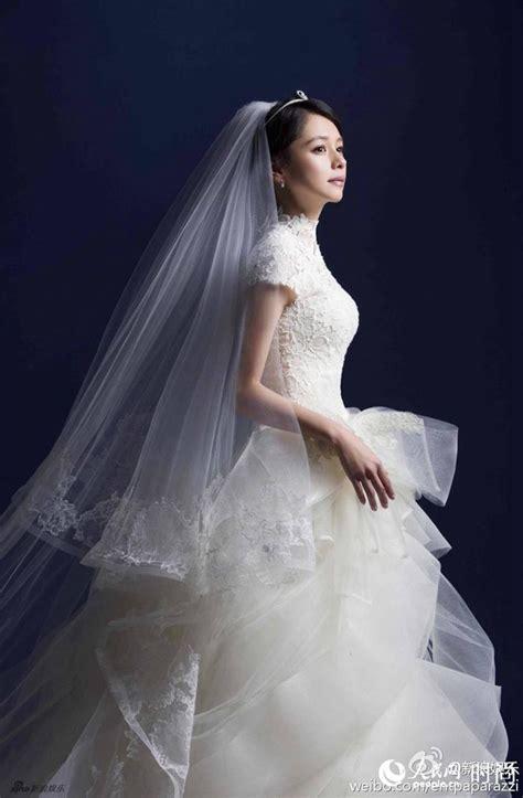 Angelababy婚纱照曝光 盘点中日韩女星绝美婚纱造型(组图)-搜狐滚动