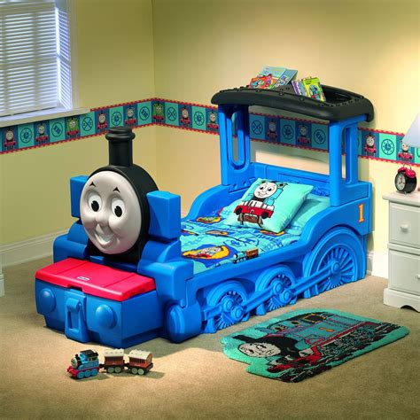 little tikes thomas friends train bed