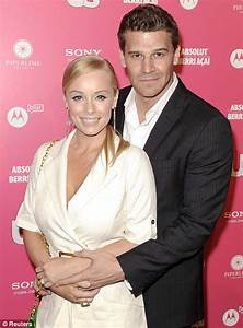 David Boreanaz admits cheating on wife Jaime Bergman ...
