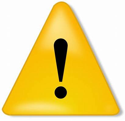 Notification Warning Clipart