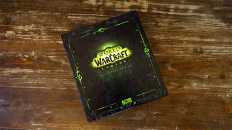 unboxing world  warcraft legion insert coin