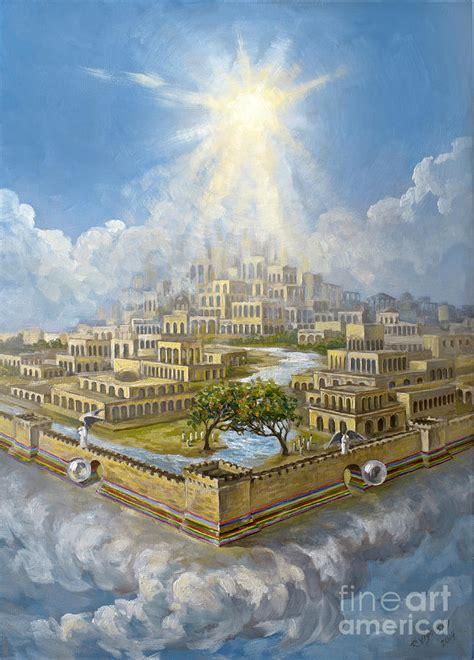 eternity jerusalem painting by the decree to restore jerusalem
