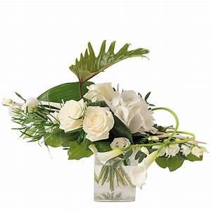 Bouquet De Fleurs Interflora : bouquet horizontal de roses et hortensia blancs interflora ~ Melissatoandfro.com Idées de Décoration