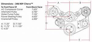 Billet Specialties Tru Trac Chevy 348  409 Serpentine