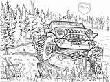 Jeep Coloring Teraflex Drawing Road Truck Printable Jeeps Drawings Cars Wrangler Template Sketch Getdrawings Bumpers sketch template