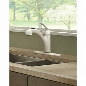 Moen Banbury Single Handle Deck Mounted Kitchen Faucet