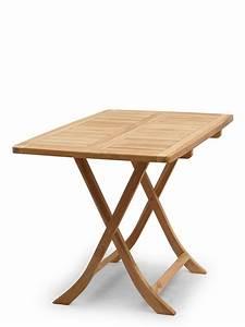 Gartentisch Holz Massiv : gartentisch gartenm bel klapptisch massiv aus teak holz 110 x 70 cm 2692 ebay ~ Indierocktalk.com Haus und Dekorationen