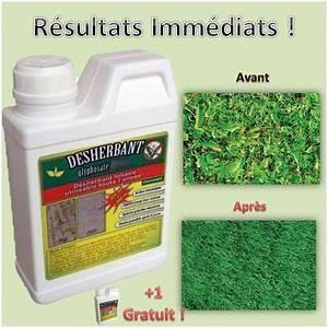 Desherbant Mauvaise Herbe : d sherbant mauvaises herbes glyphosate 500 ml 1 gratuit ~ Premium-room.com Idées de Décoration