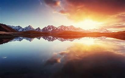 Shutterstock Editor Mountain Sunrise Untuk Wallpapers Mountains