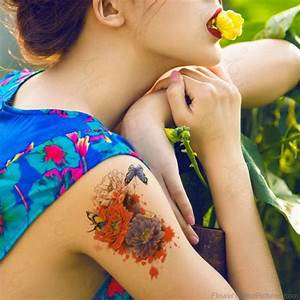 73 Great Vintage Flower Tattoos On Shoulder