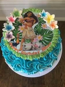 Moana cake - cake by Pipe Dream Cupcakery - CakesDecor