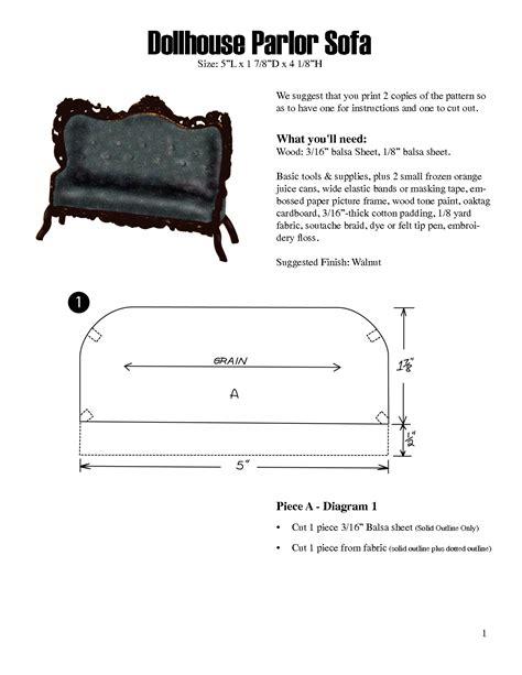 dollhouse furniture patterns scope  work template