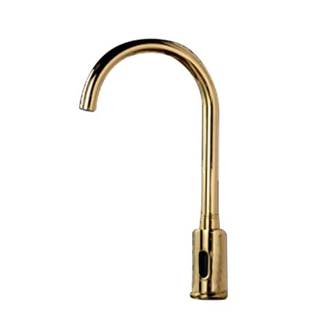 gold kitchen sink faucet gold plated sensor kitchen faucet