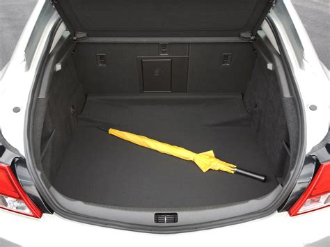 vauxhall insignia trunk image gallery opel insignia luggage space