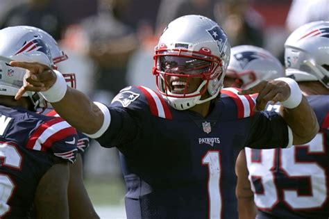 Pats embracing 'new normal' of Cam Newton carrying rushing ...