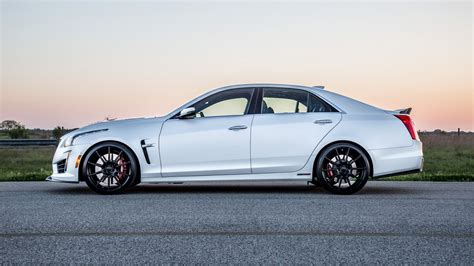 Cts V Hp by Hennessey S 1 000 Horsepower Cadillac Cts V Hits The Track