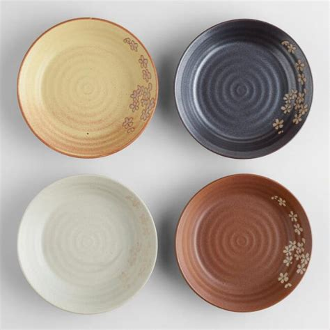 Product Of The Week Minimalist Plate Set From Metaphys by Fuji Dinner Plates Set Of 4 World Market