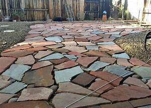 Flagstone Patios for Your Yard DesignWalls com