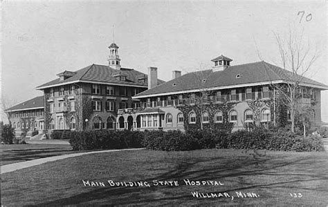 Willmar - State Hospitals: Historical Patient Records ...