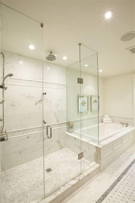 master bathroom shower floor mosaic detail master bathshower designs transitional bathroom