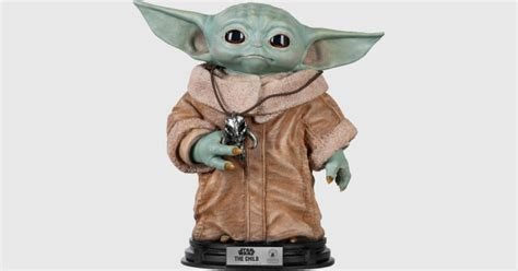 Baby Yoda life-size statue is now available for pre-order ...