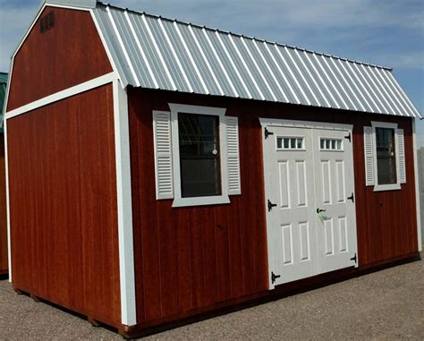 12x20 Saltbox Shed Plans by 10x20 Shed House 12x20 Saltbox Roof Shed Customer Pic