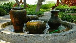 springbrunnen selber bauen hingucker im garten sat1 With französischer balkon mit brunnen im garten kosten