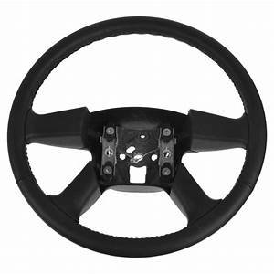 Steering Wheel Black Leather For Chevy Gmc Cadillac Pickup