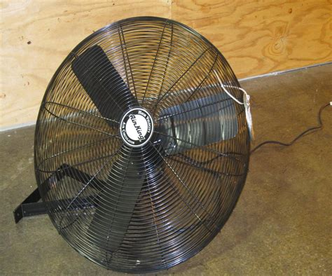 industrial wall mount fans lot 82 air king 9030 1 4 hp industrial grade wall mount