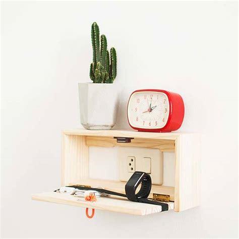 handmade wooden wall shelf fits  switch plates